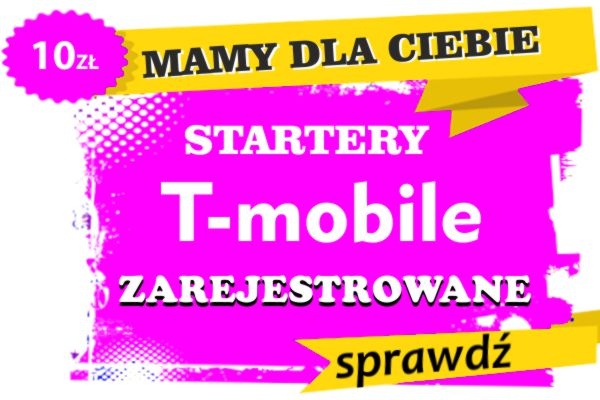 zarejestrowane startery sim t-mobile
