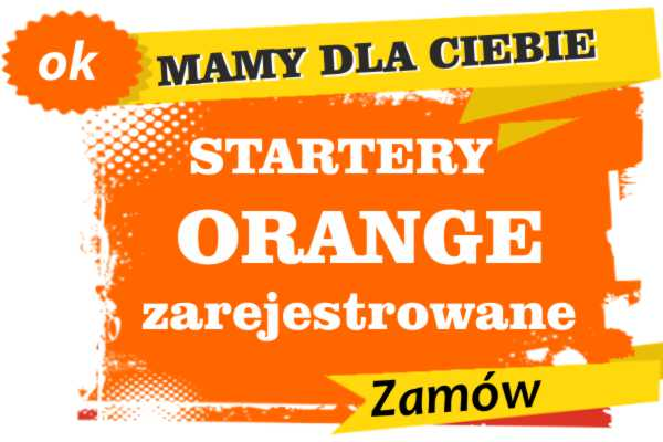 Sprzedam zarejestrowane karty sim orange
